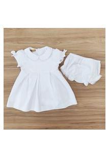 Vestido Lacinho Para Bebê Menina Meu Ateliê Baby
