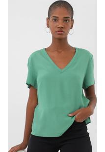 Camiseta Forum Textura Verde - Kanui