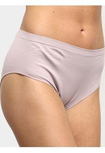 Calcinha Alta Trifil Modeladora - Feminino-Nude