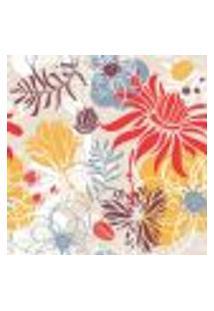 Papel De Parede Autocolante Rolo 0,58 X 3M - Floral 210121