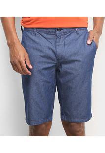 Bermuda Jeans Forum Davi Masculina - Masculino-Azul