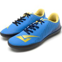 1ce118181d Chuteira Bouts Menino Soccer Ii Azul Amarelo