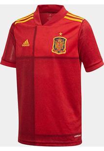 Camisa Seleção Espanha Infantil Home 20/21 S/Nº Adidas - Masculino
