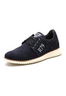 Sapato Masculino Urban Class Em Couro Marinho