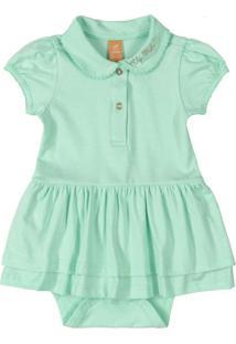 Body Vestido Verde