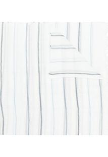 Le Tricot Perugia Cachecol Com Listras - Branco