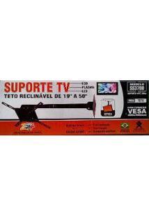 """Suporte De Tv Lcd Plasma Led Universal 19"""" A 50"""" Ss3700 Sulforte"""