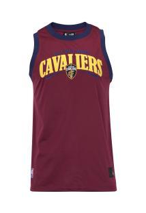 c2cd2e0550 Camiseta Regata New Era Cleveland Cavaliers Versatile Sport Wave - Masculina  - Vinho