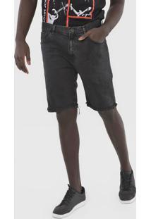 Bermuda Jeans John John Reta Destroyed Preta