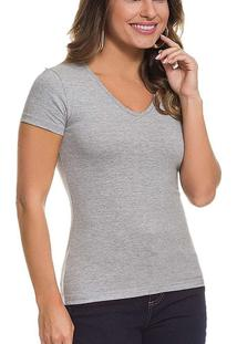 Camiseta Feminina Malwee 1000004502 50000-Mescla