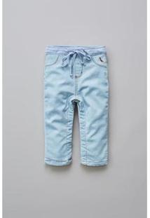 Calça Masculina Infantil Bb Jeans Basico Reserva Mini - Masculino-Azul Claro