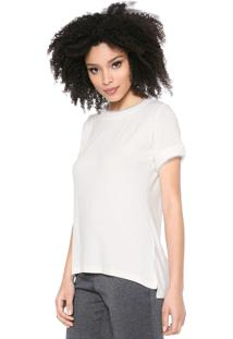 Camiseta Maria Filó Pelo Branca