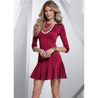 bc3bd3816c68 Vestido Bonprix Vermelho feminino | Shoes4you