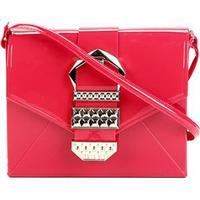 05f4e08de Bolsa Petite Jolie Verniz Detalhe Fivela Alça Transversal Hello Bag  Feminina - Feminino-Vermelho