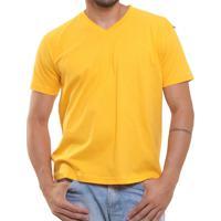 Camiseta Masculina Oitavo Ato Bordado Frontal Decote V Lisa - Masculino fb3b18fa9e