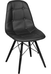 Cadeira Eames Botonê- Preta- 83X44X39Cm- Or Desior Design