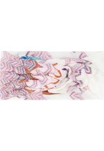 Missoni Mare Headband Com Padronagem Abstrata - Branco