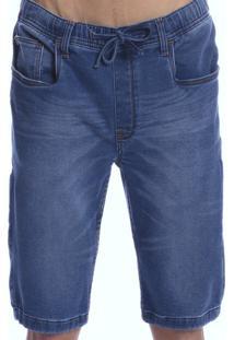 Bermuda Long Island Jeans/Moletom - Kanui