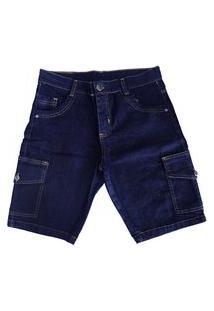 Bermuda Jeans Cargo Plus Sizemasculina