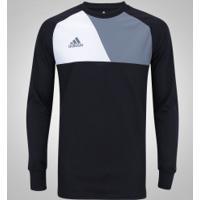2a7fdd29102b6 Camiseta De Goleiro Manga Longa Adidas Assita 17 - Masculina - Preto