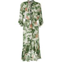9a70ee36c4 Adriana Degreas Vestido Longo Com Amarração - Verde