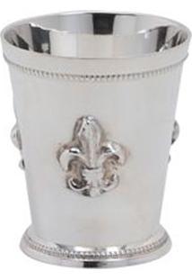 Castiçal Decorativo Banho De Prata Aigle