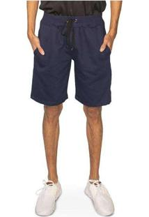 Bermuda Basic Polo State Azul Marinho Marinho