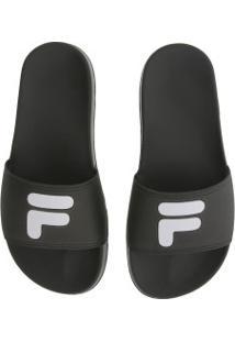 Chinelo Fila F-Slider 2.0 - Slide - Feminino - Preto