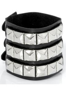 Bracelete Rebites 03 - Unissex