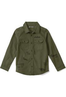 Camisa Tigor T. Tigre - 70057I Verde - Kanui