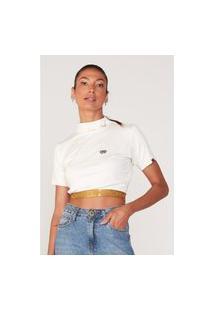 Camiseta Ecko Feminina Especial Off White