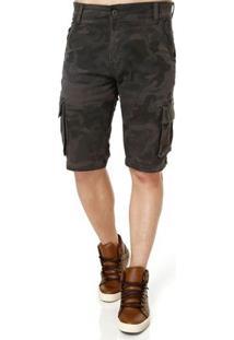 Bermuda Jeans Masculina Bivik Verde