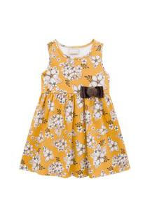 Vestido Infantil Milon Amarelo