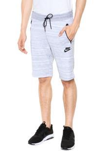 Bermuda Nike Sportswear Av15 Short Knit Cinza