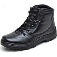 Coturno Militar Preto masculino   Shoes4you b0be51dfe3