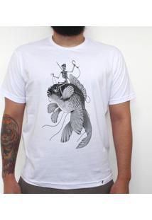 Ossos Ao Mar - Camiseta Clássica Masculina