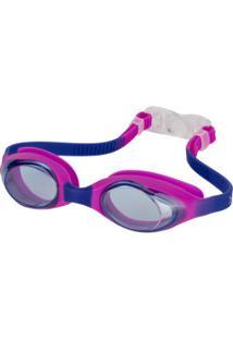 Óculos De Natação Oxer Flash - Infantil - Rosa/Azul