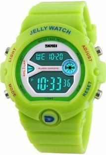 Relógio Feminino Skmei Digital 1153 - Feminino-Verde