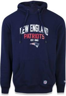 Casaco Moletom New England Patriots Core Canguru - New Era - Masculino