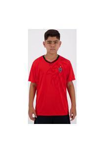 Camisa Atlético Mineiro Tactic Infantil Vermelha