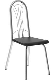 Kit 2 Cadeiras 182 Napa Móveis Carraro Preto