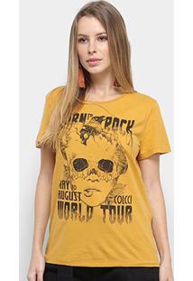 Camiseta Colcci Born To Rock Feminina - Feminino