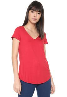 Camiseta Malwee Lisa Vermelha