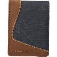 Carteira Constantino Masculina - Masculino-Azul a4ffc49066
