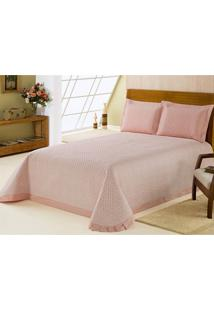 Colcha Matelasse Delicate Class Percal 200 Fios King 3 Pe