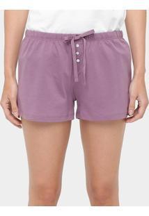 Short De Pijama Liz - Feminino