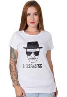 Camiseta Stoned Heisenberg Feminina S - Feminino