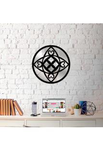 Escultura De Parede Wevans Mandala Vibes + Espelho Decorativo