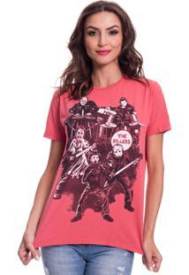 Camiseta Jazz Brasil Killers Vermelha - Vermelho - Feminino - Algodã£O - Dafiti