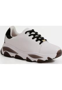 Tênis Feminino Chunky Sneaker Recorte Vizzano